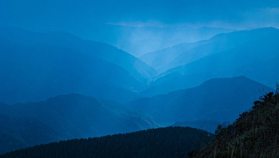 奥四万十の山