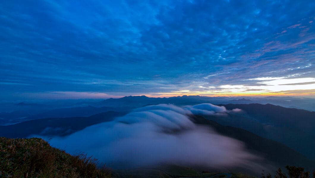 The Mountains of Oku Shimanto