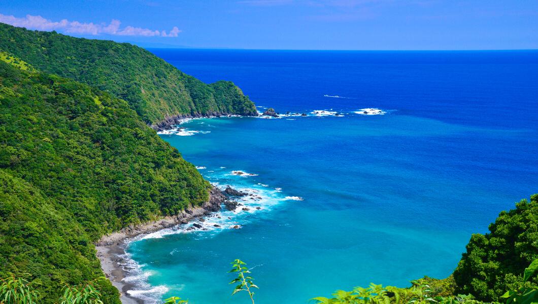 The Sea of Oku Shimanto