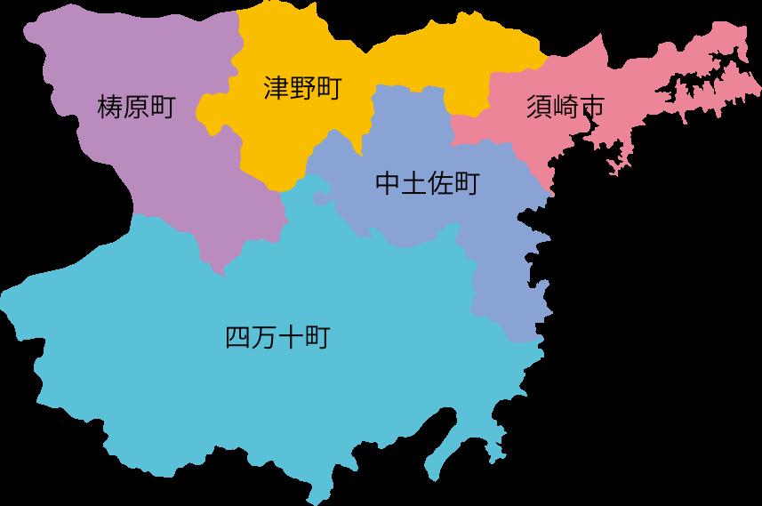 Oku Shimanto Map