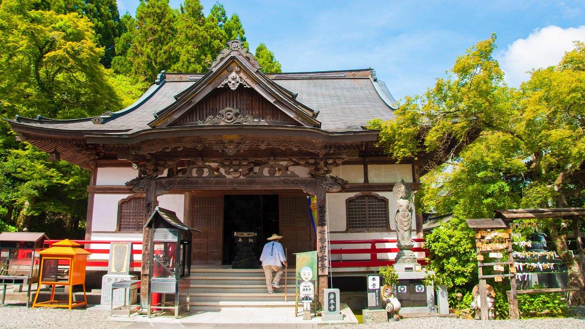 宿坊完備!極彩色に魅せられる四国霊場「岩本寺」