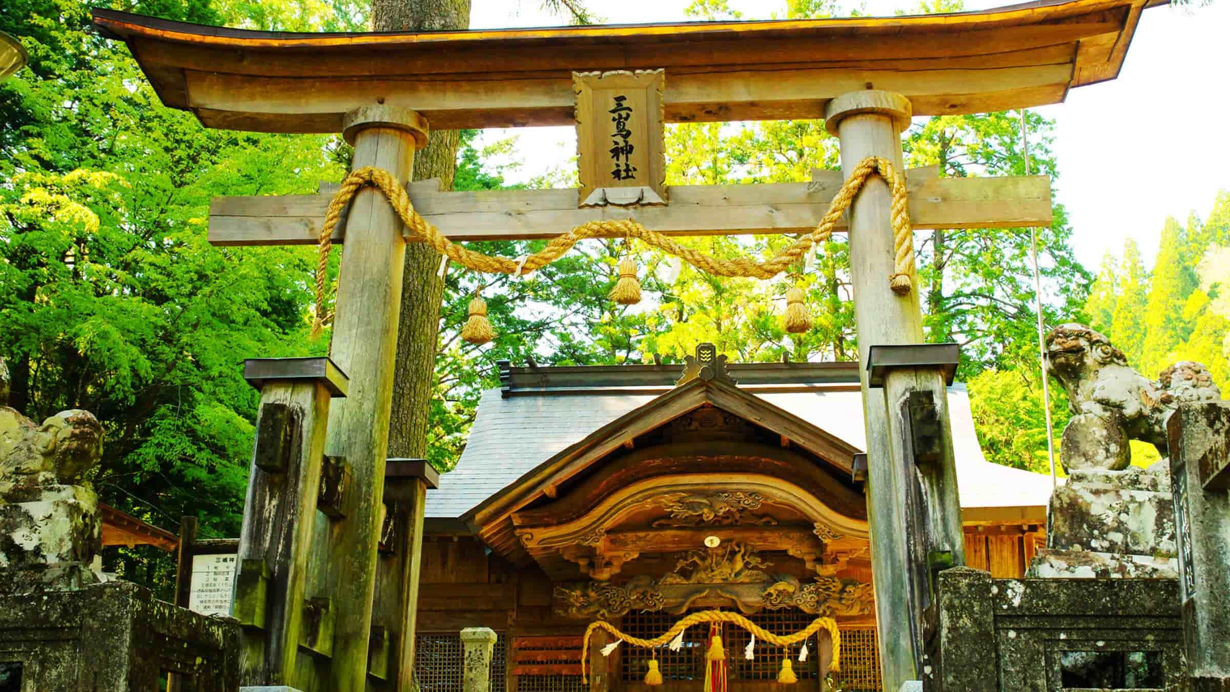 坂本龍馬も祈願した!?脱藩の軌跡を辿る「三嶋神社」