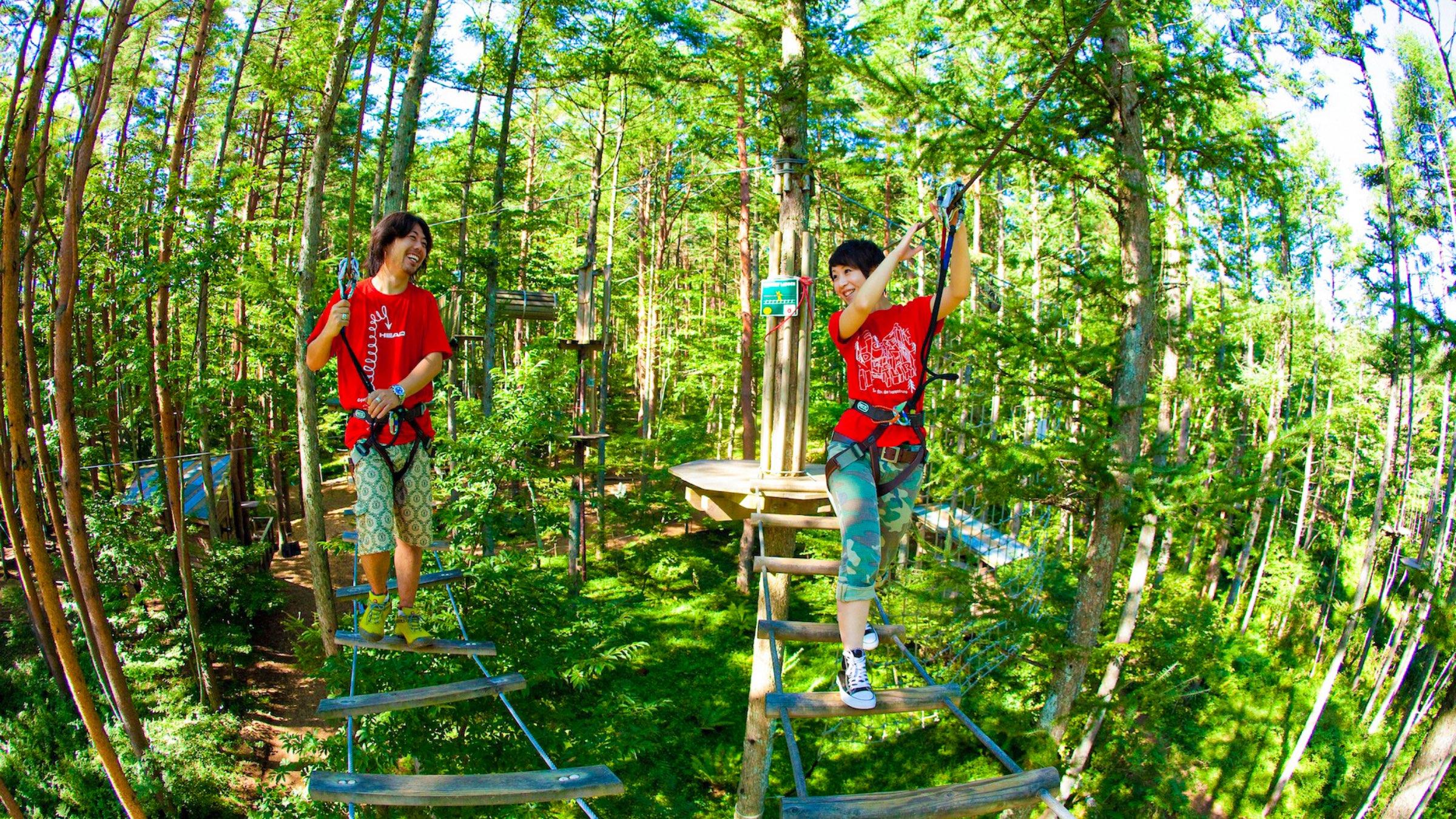 森と自然まるごとテーマパーク!フォレストアドベンチャー・高知