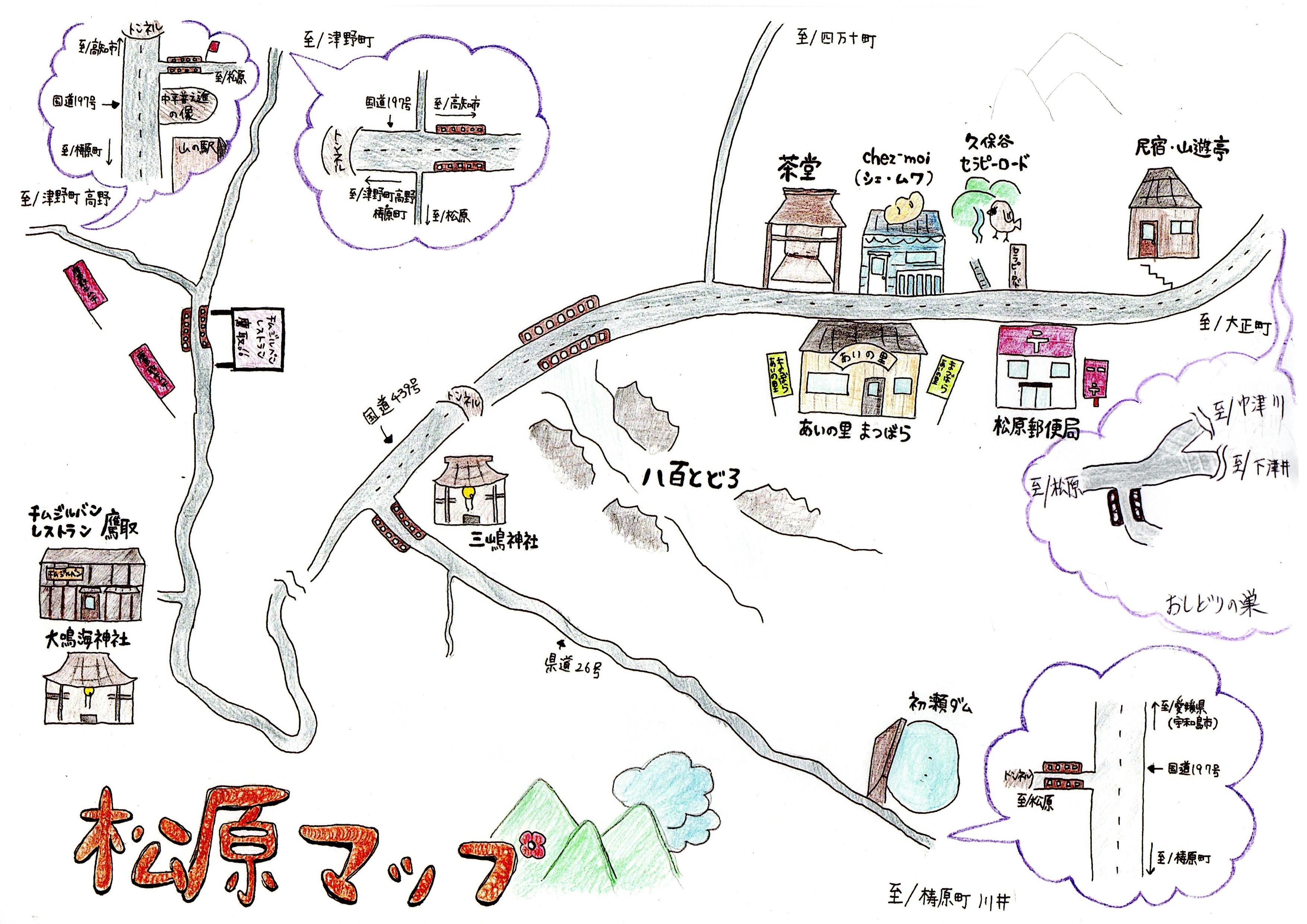 松原マップ2 手書き150