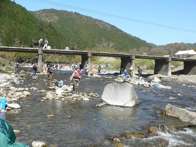 中土佐町 アメゴ釣りな祭 大野見 奥四万十博イベント