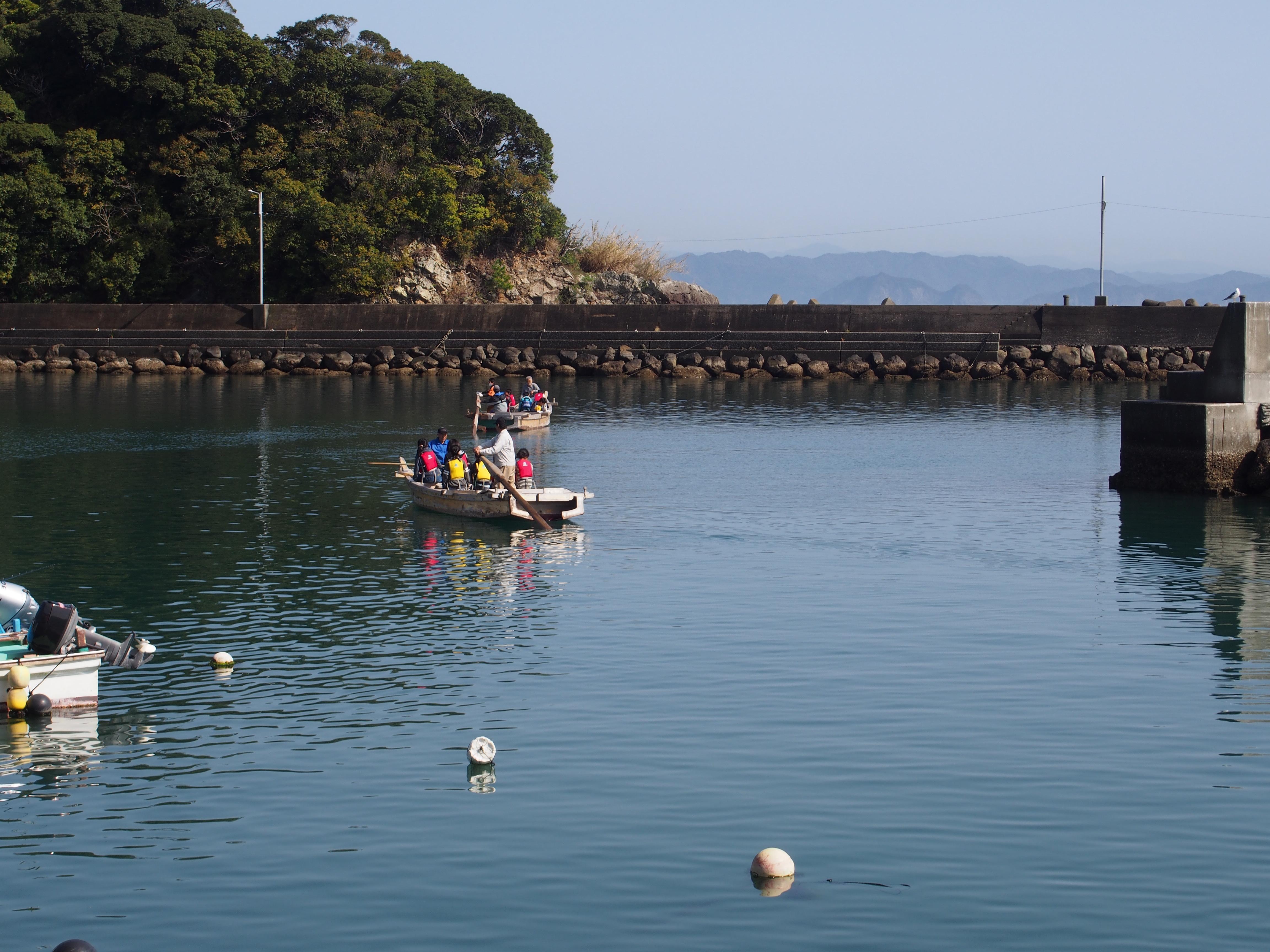 中土佐町 海鮮祭 和船乗車無料体験