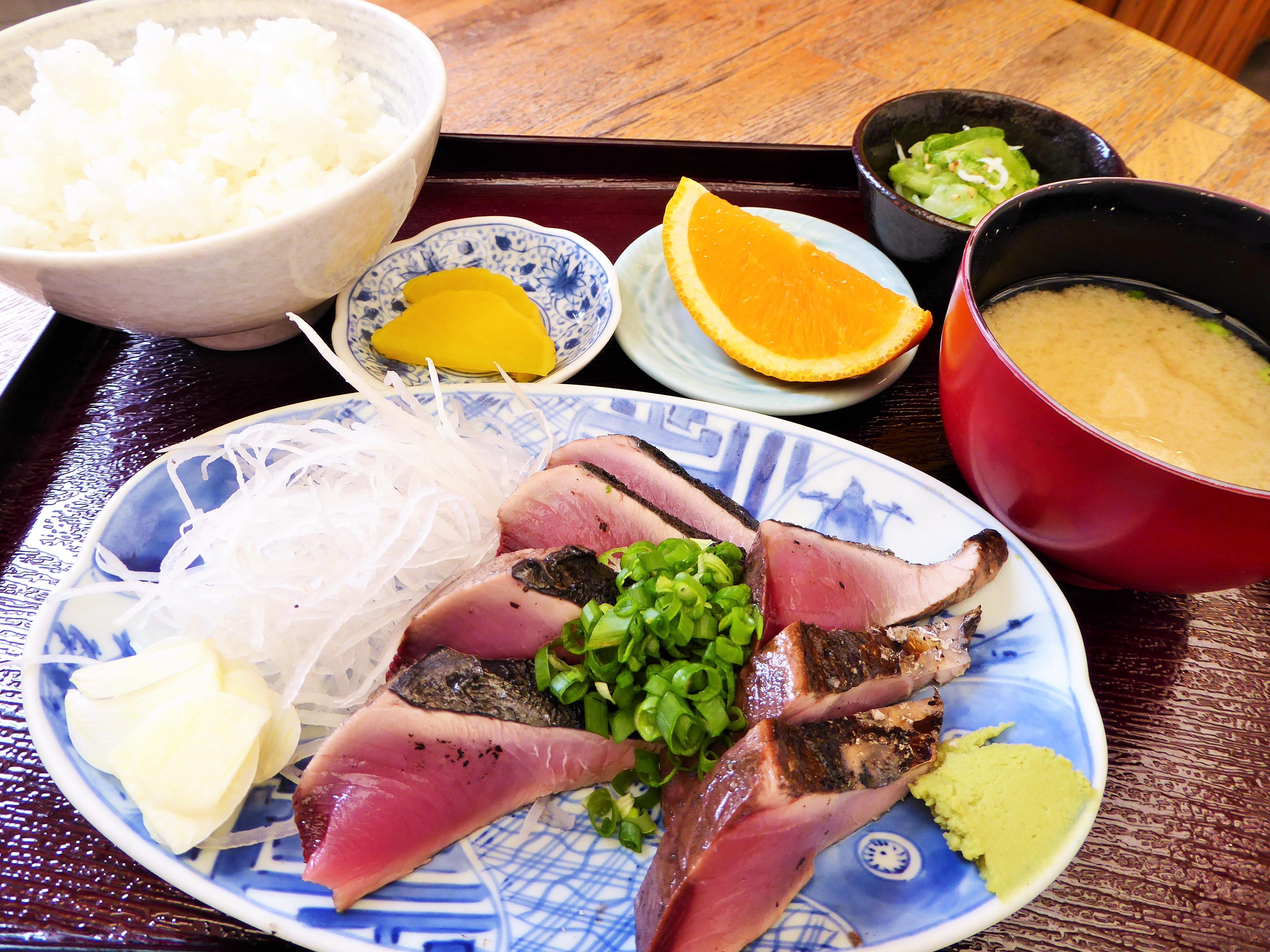浜ちゃん タタキ定食