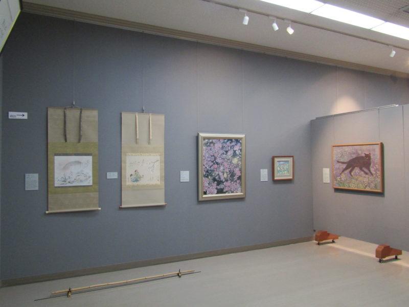 日本の美を感じる!「日本画、近代の作家と高知のこれから」展9/25まで中土佐町立美術館