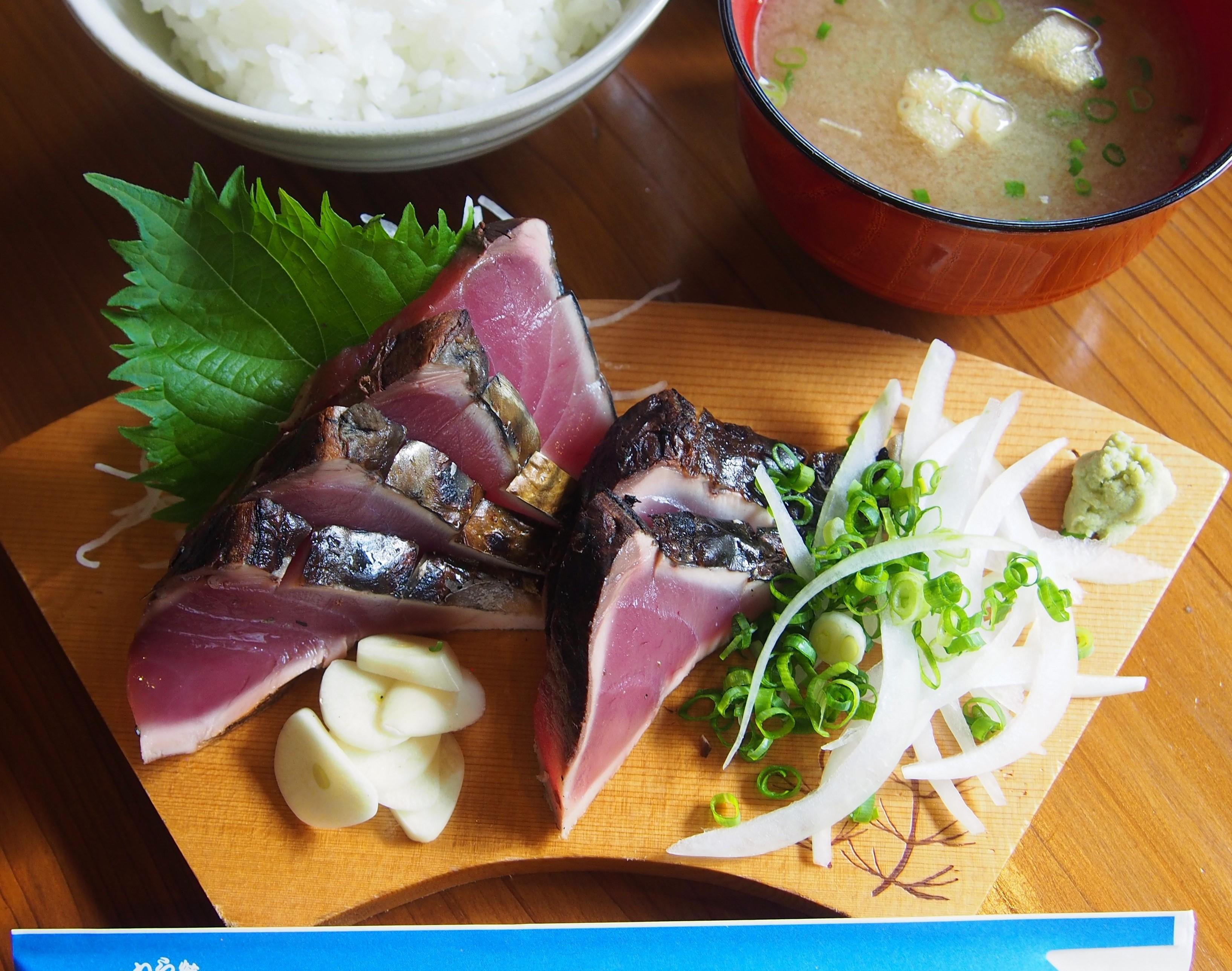山本鮮魚店 タタキ定食