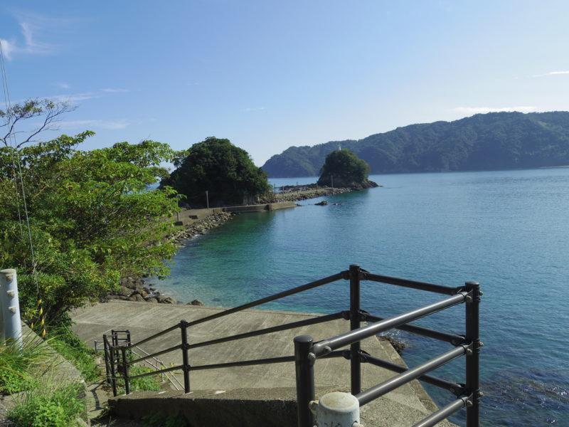 中土佐町おすすめ観光スポット「双名島」は鬼が運んで出来た島