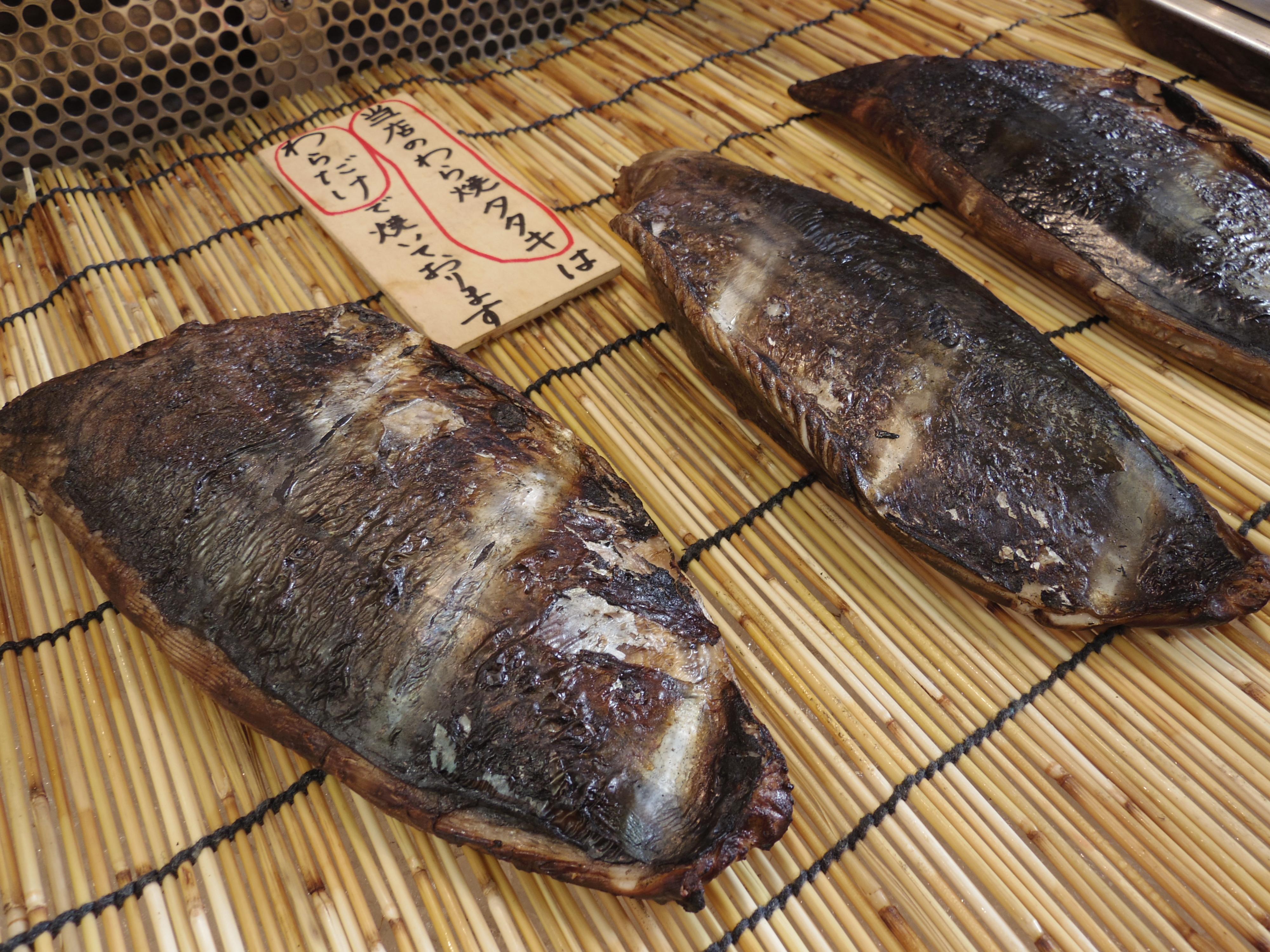 山本鮮魚店藁焼きタタキ 中土佐町久礼