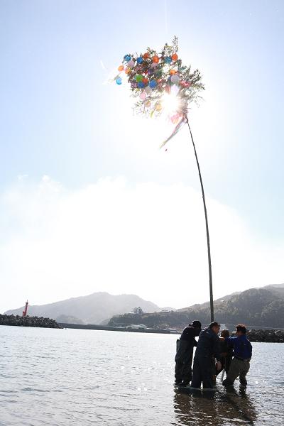 豊漁・豊作を祈願行事・中土佐町「ヨシオサン」須崎市野見の「潮ばかり」と言われる漁師町伝統行事
