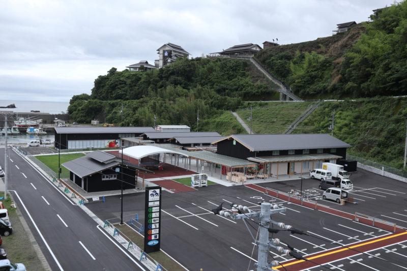 道の駅なかとさ 2017年7月15日グランドオープン 高知県中土佐町