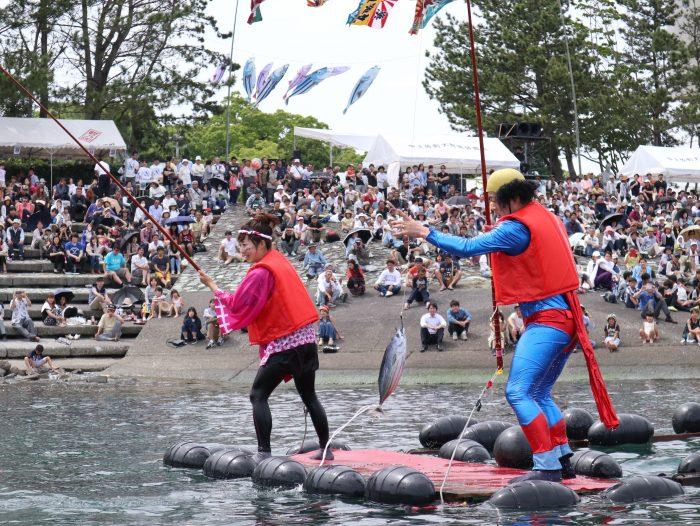 中土佐町 かつお祭 鰹一本釣り競争