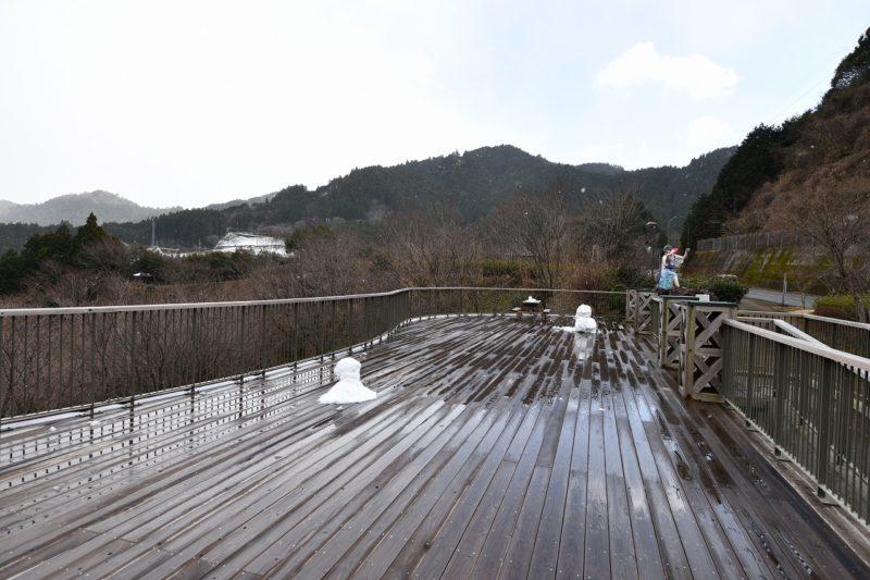 四国カルスト天狗高原もすっかり冬模様