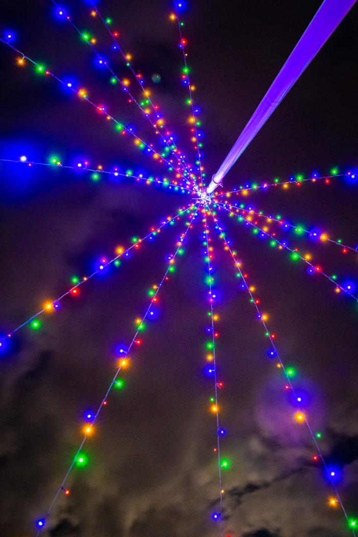 新田クリスマスイルミナイト、ライトアップ