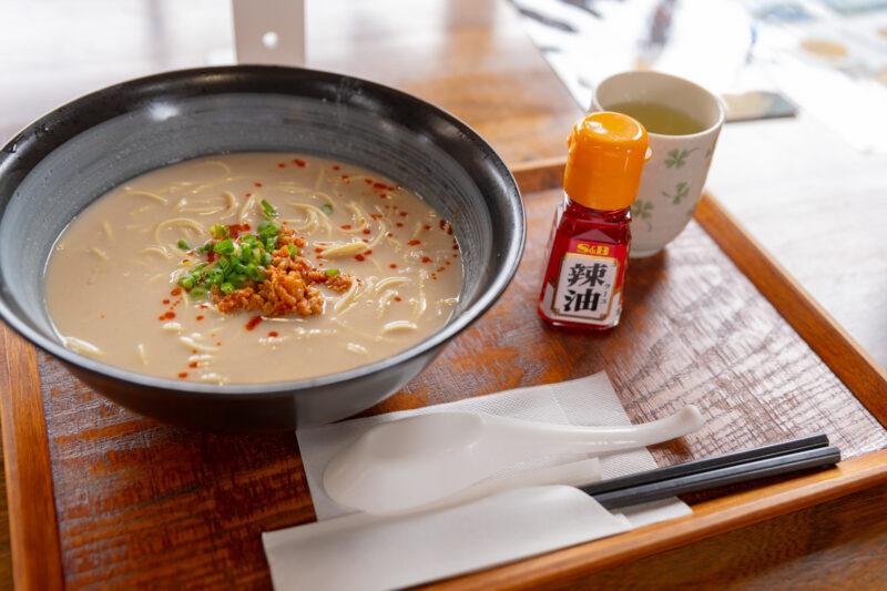 津野町特産「里芋」をたっぷり使ったラーメンが完成!濃厚とろとろなのにあっさり!